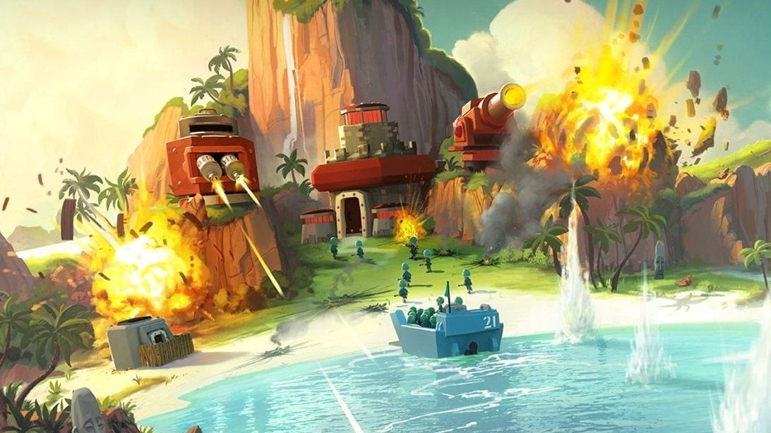 Features Of Boom Beach MOD Apk Game