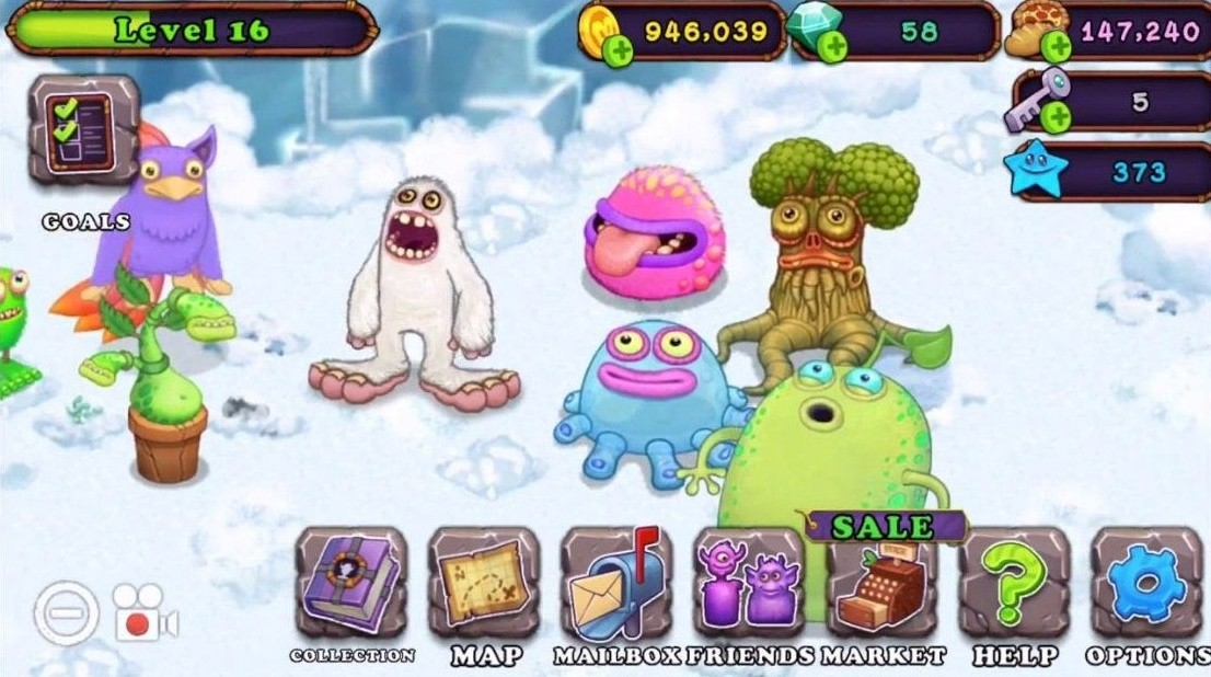 Features Of My Singing Monsters Mod APK