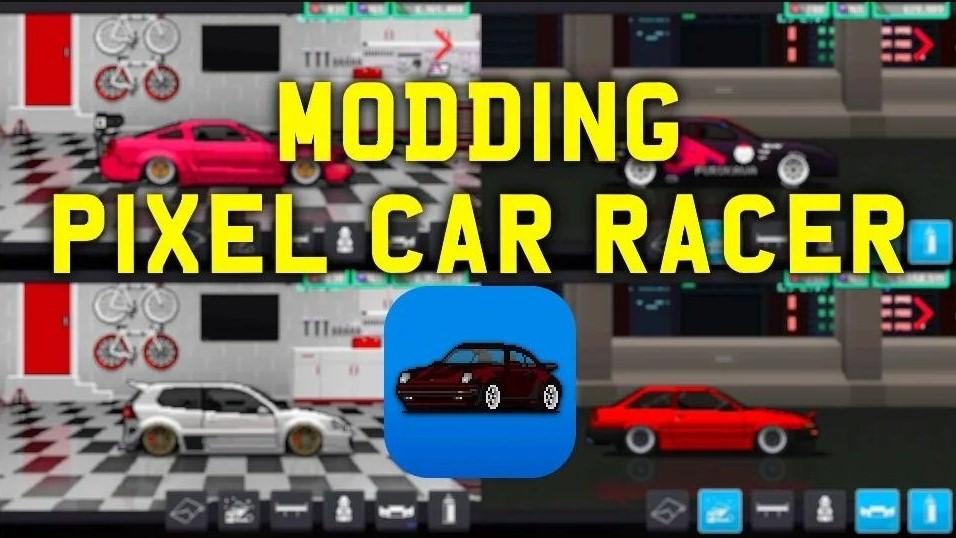 Features Of Pixel Car Racer MOD APK