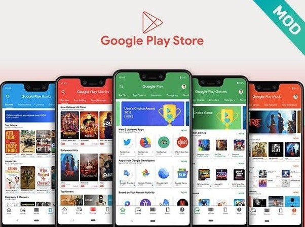 Features Of Google Play Store MOD APK