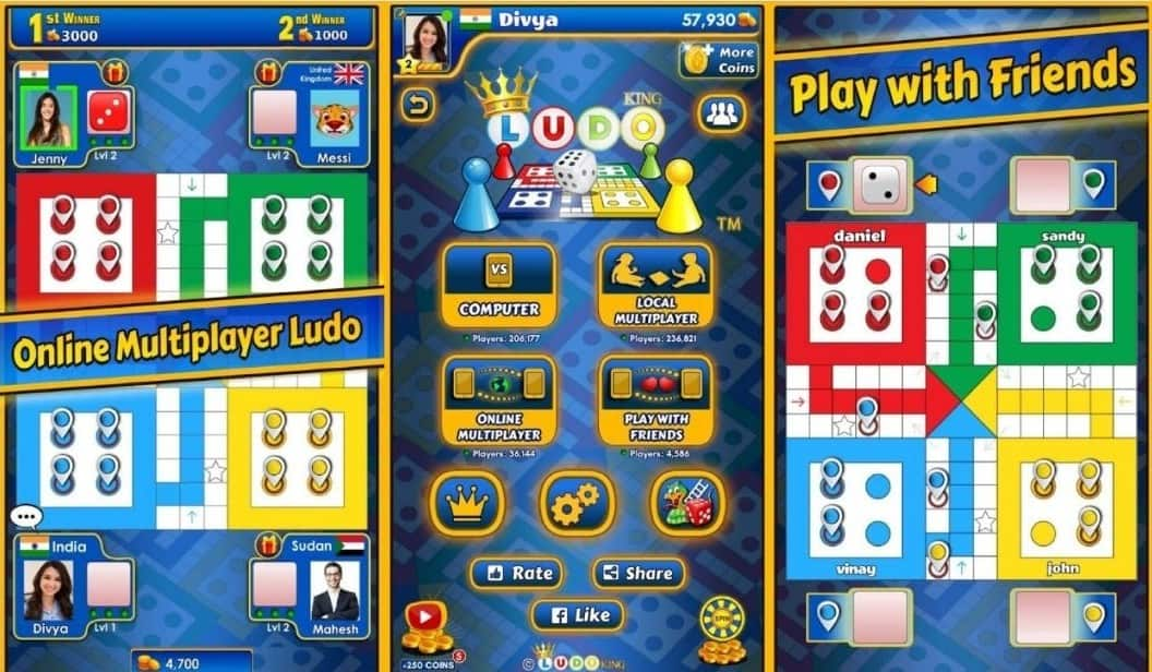 Download Ludo King MOD APK the Latest Version 2021