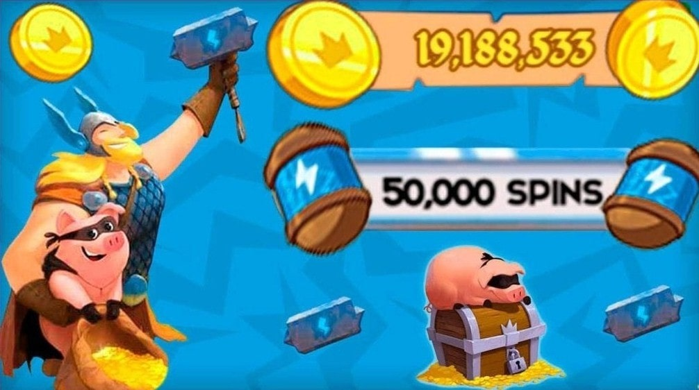 Download Coin Master MOD APK the Latest Version 2021