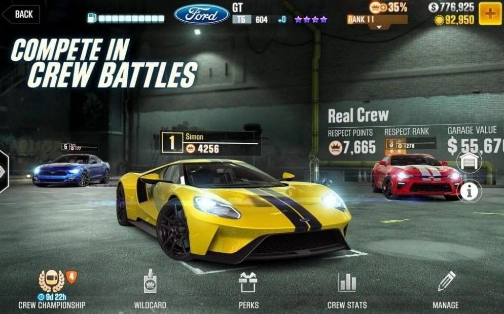 Download CSR Racing 2 MOD APK + OBB File Latest Version 2021