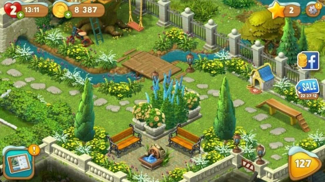 Download Gardenscapes MOD APK the Latest Version 2021