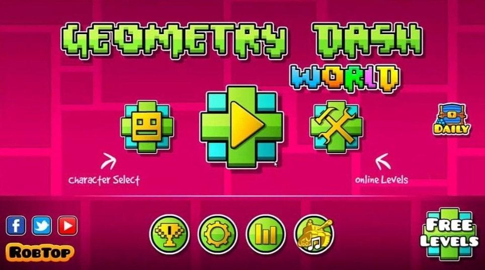 Download Geometry Dash MOD APK the Latest Version 2021