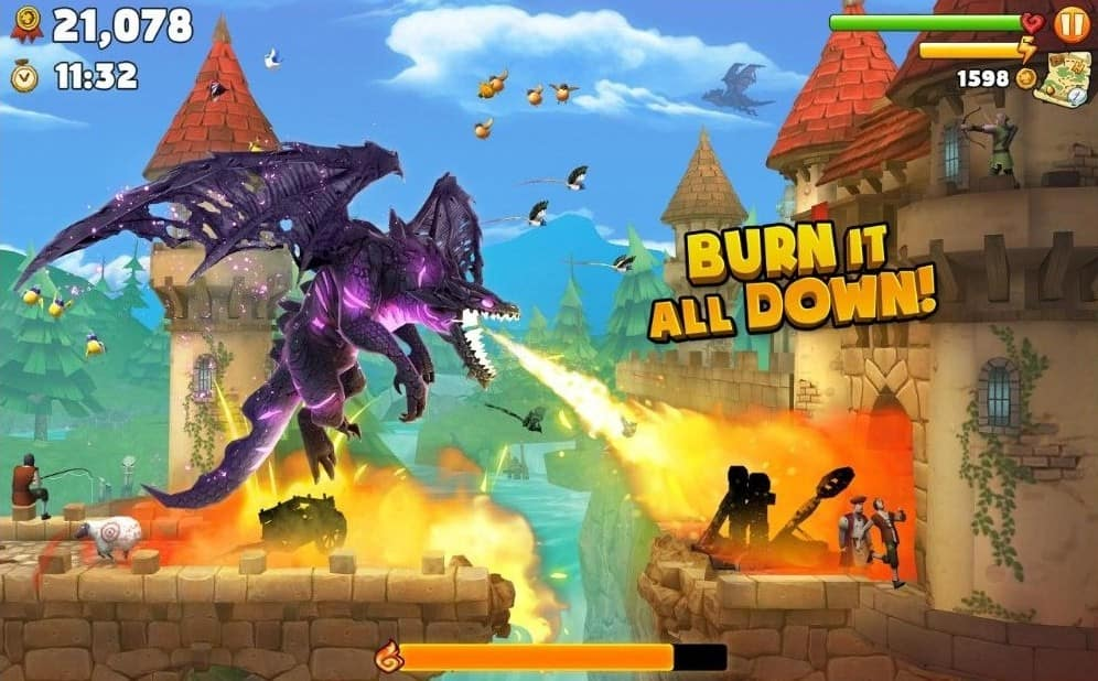 Download Hungry Dragon MOD APK the Latest Version 2021