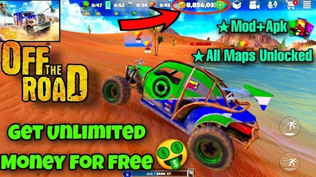 Download Off The Road - OTR Open World Driving APK MOD Latest Version 2021