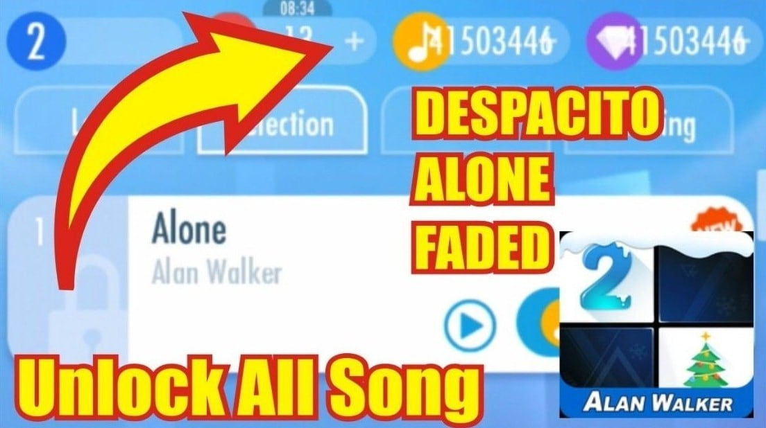 Download Piano Tiles 5 MOD APK All Songs Unlocked 2021
