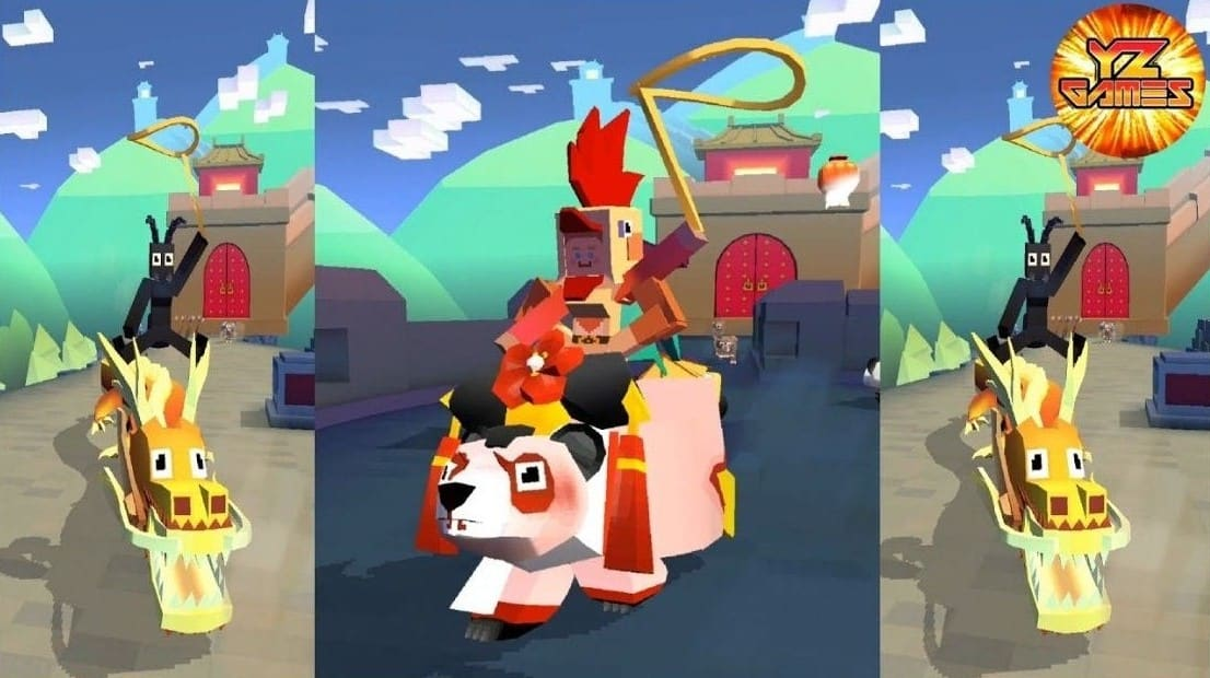 Download Rodeo Stampede MOD APK (Unlock All Animals & Free Shopping) Latest Version