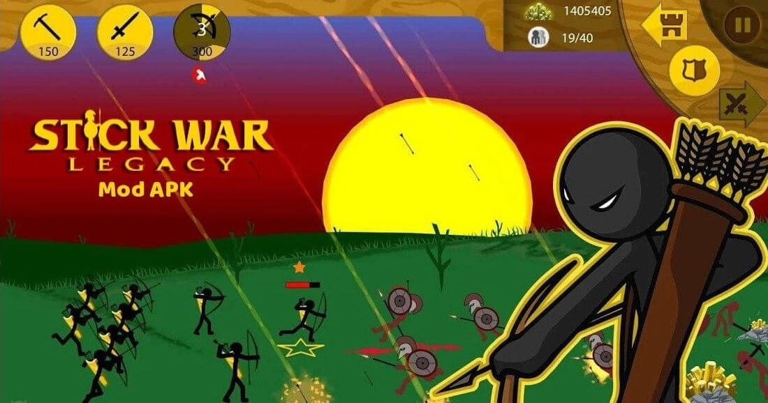 Download Stick War Legacy MOD APK Unlimited Everything Latest Version 2021