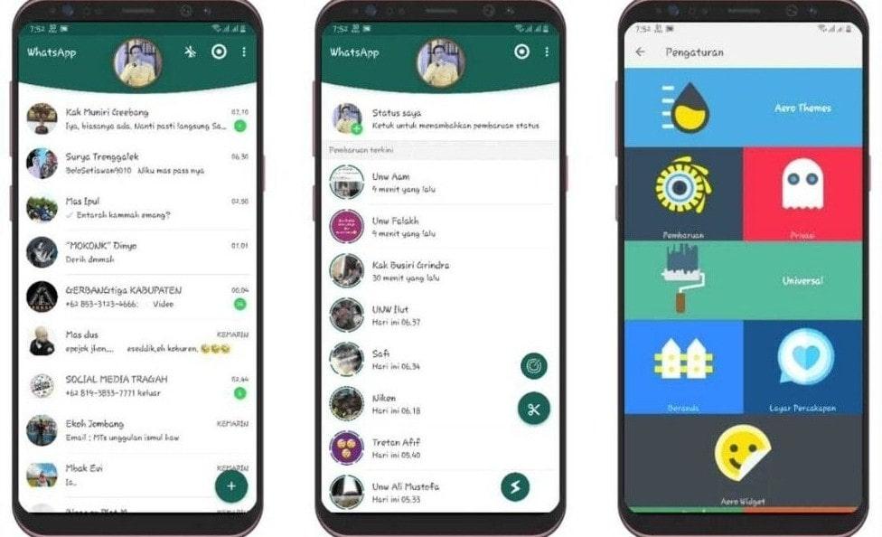 About WhatsApp Aero APK