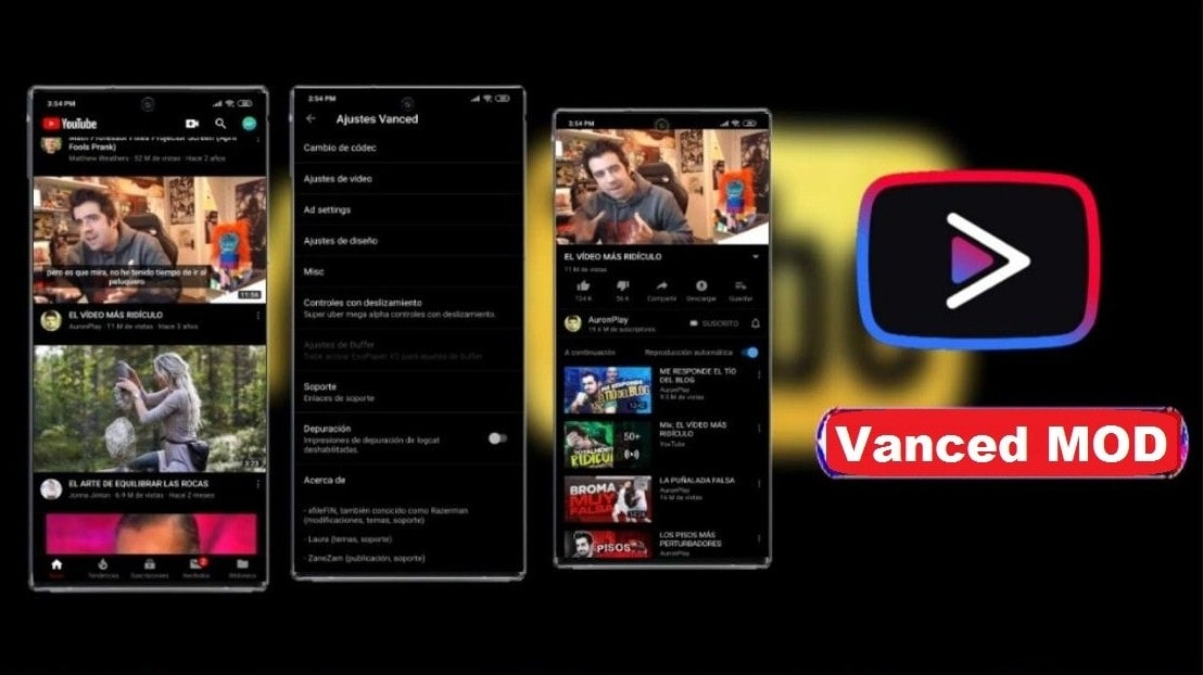 YouTube Vanced MOD APK Non Root Download Free Latest Version 2021