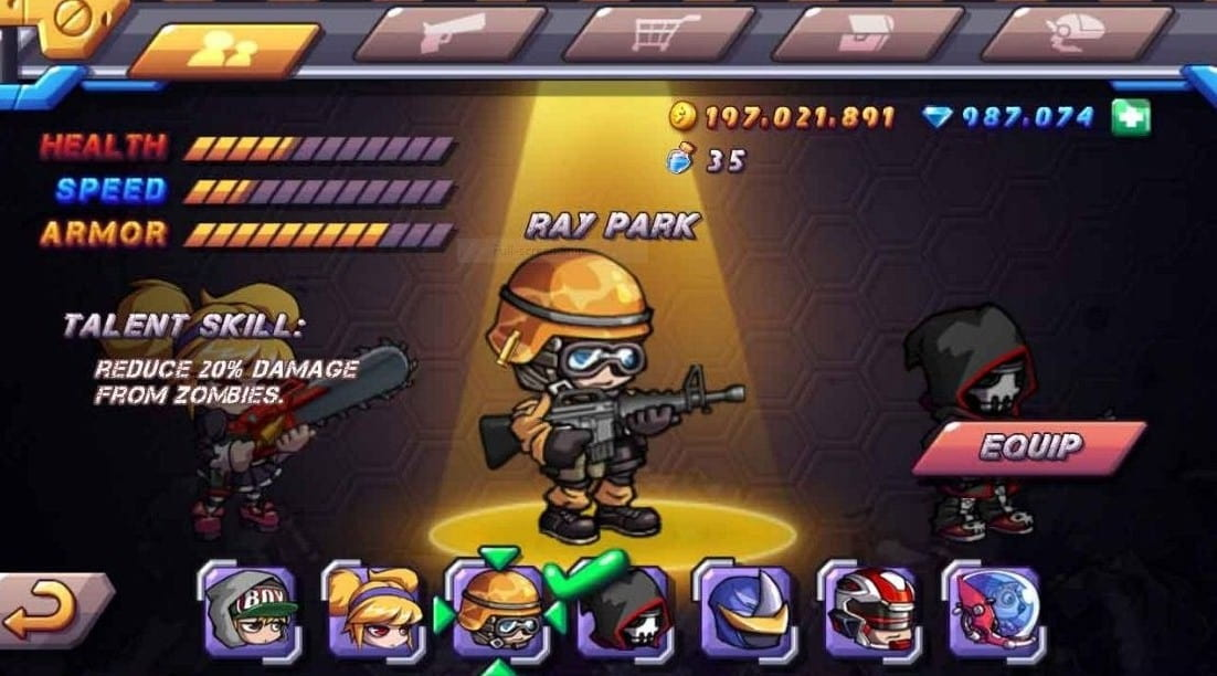 Download Zombie Diary 2 MOD APK Unlimited Coins, Gems, Free Shopping Latest Version 2021